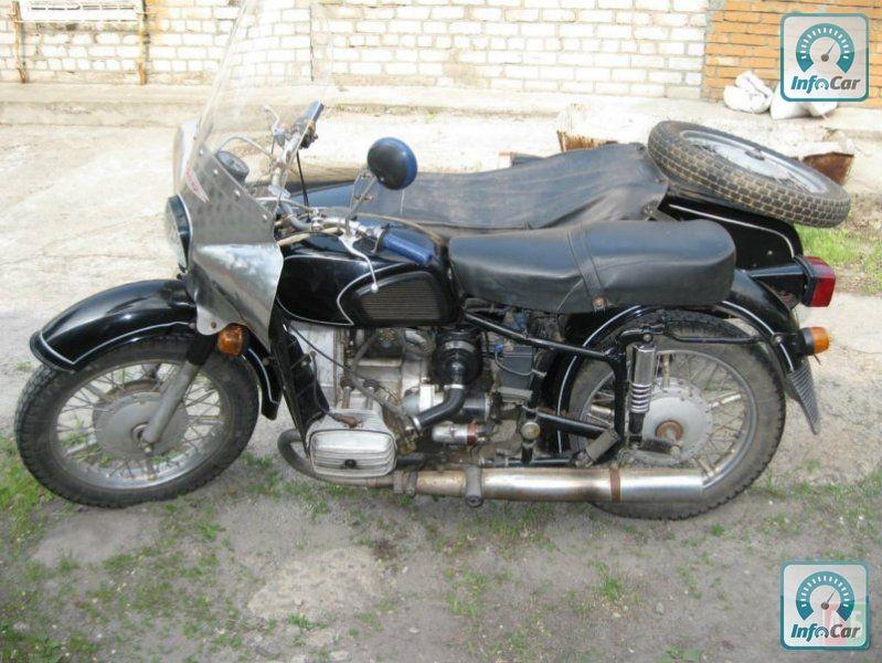 Днепр мт 16 тяжёлый дорожный мотоцикл