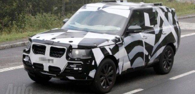 Range Rover похудеет на полтонны и будет есть 8 л
