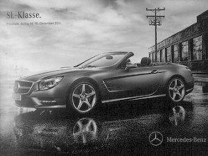 Появились первые изображения нового Mercedes-Benz SL