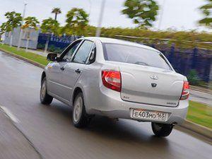 Под отзыв модели Lada Granta попало 600 автомобилей