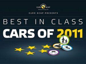 Организация Euro NCAP выбрала лучшие машины 2011 года