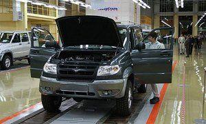 УАЗ увеличил производство до 64 тысяч автомобилей